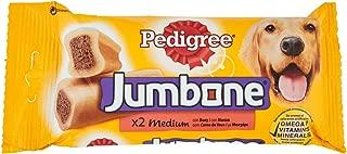 Pedigree Jumbone Medium 2 Beef Chews, 200g
