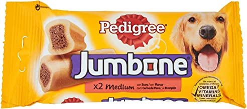 Pedigree Jumbone Medium 2 Beef Chews, 200g