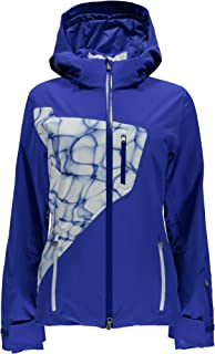 Spyder Women's Pandora Ski Jacket-Sizzler/Girlfriend/White, Size 8