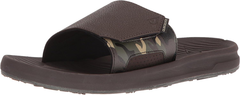 Quiksilver Mens Travel Oasis Slide Sandal