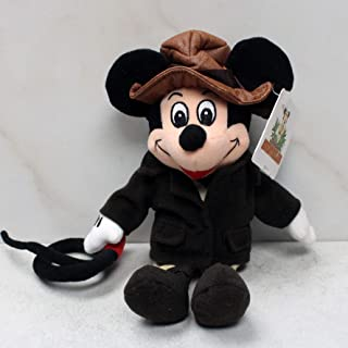 Disney Adventureland Mickey Mouse Adventurer Indiana Jones Plush Bean Bag by Disney