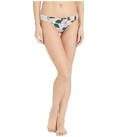 Maaji Sands Docks Reversible Signature Coverage Bikini Bottoms (Orange Floral) Women