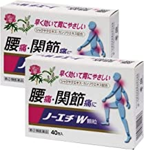【指定第2類医薬品】ノーエチW顆粒 40包 ×2