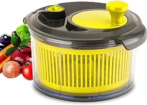 Royalford Mini Salad Spinner | Healthy Eating Salad Spinner and Dresser for Lettuce Herbs Vegetables & Fruits| Multipurpose, Spin-Knob Design | Spinner for Drying and Dressing Salads | 1500ML