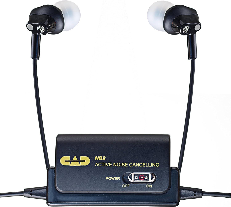 CAD Industry No. 1 NB2 Noise-Canceling Earphones Las Vegas Mall Black
