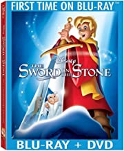 The Sword In The Stone 50th Anniversary Edition [Blu-ray + DVD] NEW