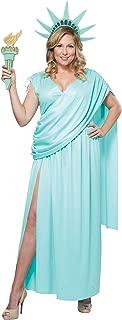 California Costumes Women's Lady Liberty Plus