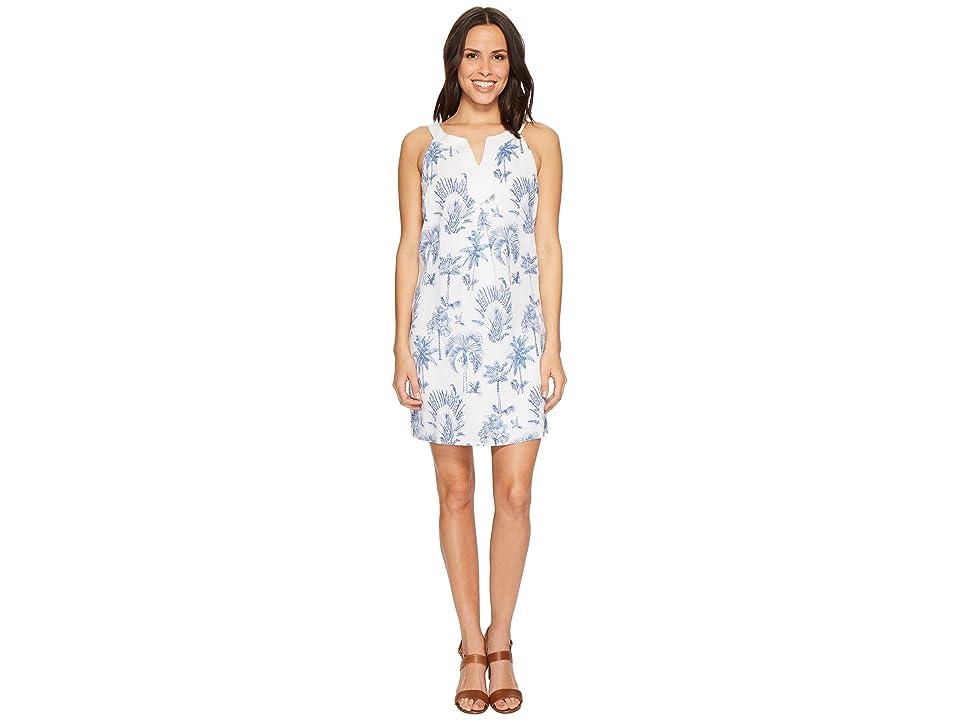 Tommy Bahama Having A Toile Short Dress (Dockside Blue) Women