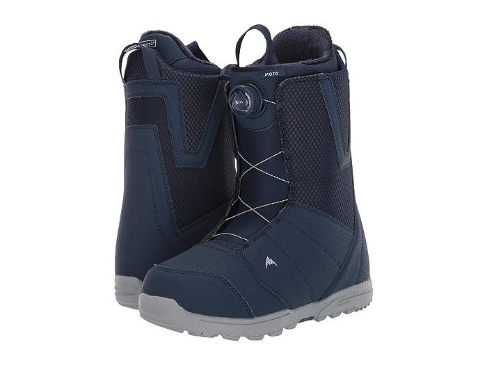 Burton  Moto Boa Snowboard Boot (Blue) Mens Cold Weather Boots