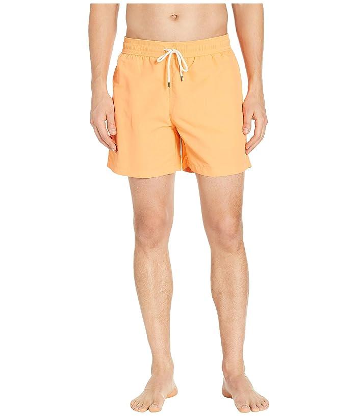 Polo Ralph Lauren Nylon Traveler Swim Shorts (Key West Orange) Men
