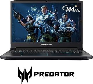 Acer 宏碁 Predator Helios 300 游戏笔记本电脑电脑,15.6 英寸全高清144Hz 3ms IPS 显示屏,Intel i7-9750H,GTX 1660 Ti 6GB,16GB DDR4,256GB PCIe NVMe SSD,背光键盘,PH315-52-78VL