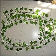 5 stks kunstmatige klimop groen blad garland planten wijnstok nep gebladerte bloemen home decor plastic kunstmatige bloem ...