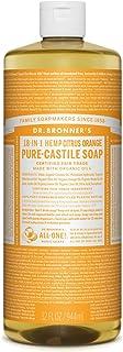 Dr. Bronners Citrus Liquid Castile Soap, 32 FZ