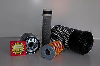 Filter - Set (klein) voor Kubota KX 41-3 S V oliefilter, luchtfilter, brandstoffilter