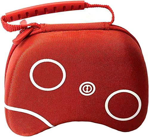 Stealodeal Red Universal Travel EVA Game Controller Carrying Case Gaming Accessory Box (for Xbox One, Xbox, Xbox 360,...