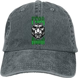 Unisex Fantastic Four Doctor Doom Cover Cool Hat Vintage Adjustable Denim Dad Baseball Cap Cowboy Hat