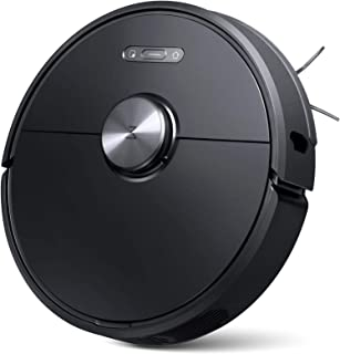 Roborock S6 Robot Vacuum, Robotic Vacuum Cleaner and Mop with Adaptive Routing, Selective Room Cleaning, Super Strong Suction, and Extra Long Battery Life, APP & Alexa Voice Control (Renewed)