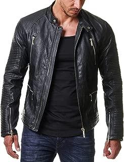 Roxa Leathers Men's Genuine Lambskin Real Leather Jacket Motorcycle Biker Stylish Jacket