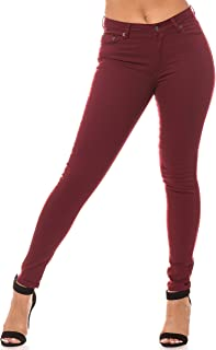 Aphrodite High Waisted Jeans for Women - Solid Basic Womens Stretch Jeans