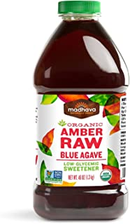 Madhava Organic Amber Agave, 46-Ounce