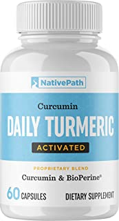 Sponsored Ad - NativePath - Daily Activated Turmeric (60-Count) - 30-Day Supply - 1200+ Mg of Turmeric Per Serving - Curcu...