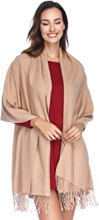 Cashmere Pashmina Shawls and Wraps Scarf(20+Colors Available)