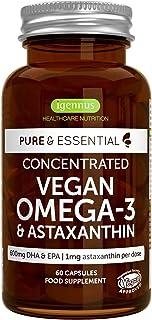 Pure & Essential Omega-3 Vegano. 1340 mg