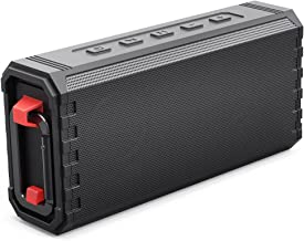 Bluetooth Speaker Portable Fully Waterproof IPX7 20W Hcman Shower Speakers Enhanced Bass Sound, 24-Hour Playtime, Built in Mic, TF Card, Auto Off, Durable Design for Party, Travel