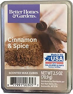 Better Homes and Gardens Cinnamon & Spice Wax Cubes, 3 Pack