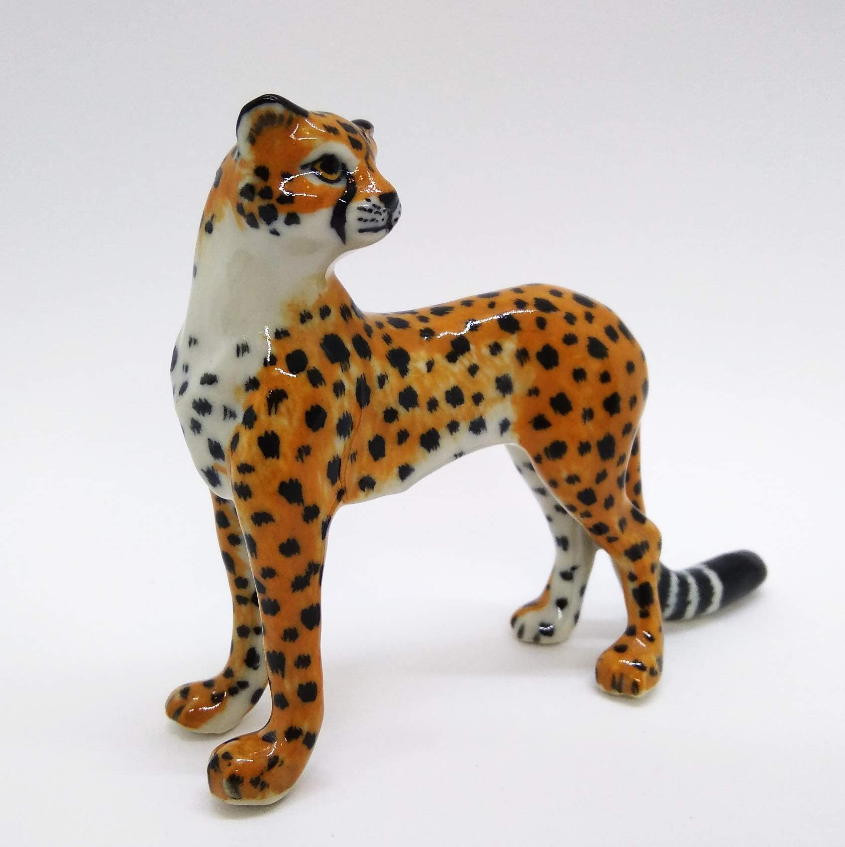 Animal Gift Marble Leopard Leopard Figurine Leopard Figurine ...