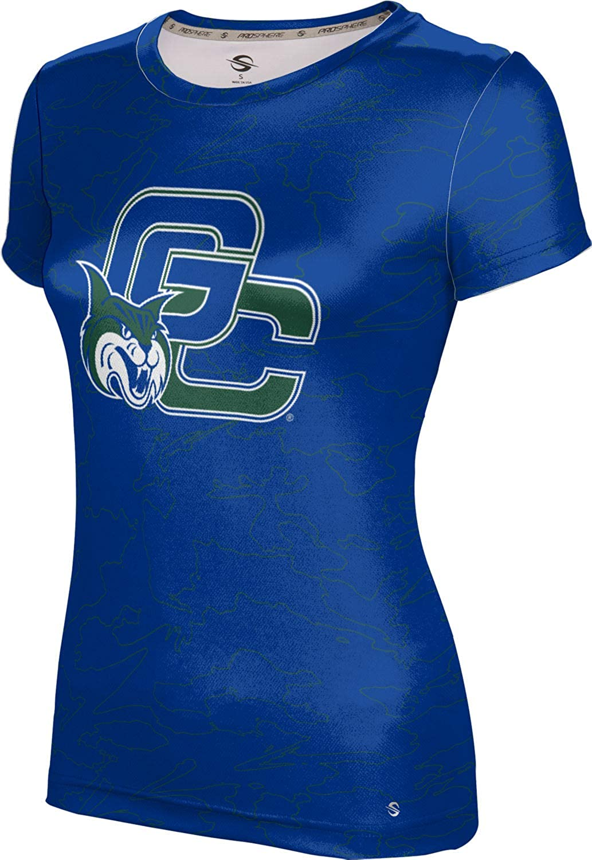 Georgia College & State University Girls' Performance T-Shirt (Topography)