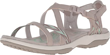 Skechers Women's Reggae Slim-Keep Close Gladiator Sandals Flat