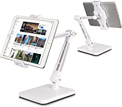 DoubleSun iPad Stand Holder, Tablet Stand Adjustable - 360° Swivel Folding iPad Stands and...