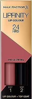 Max Factor Lipfinity Lipstick - 016 Glowing, 0.14 oz