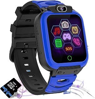 Jaybest Reloj Inteligente para Niños, Smartwatch niños con