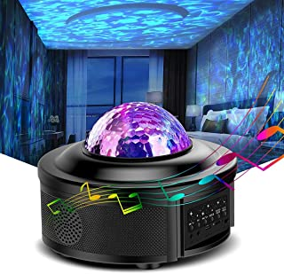 Galaxy Projector, Star Projector, Led Night Light, Lights for Bedroom, Starlight Projector,with Bluetooth Speaker, Can Rem...