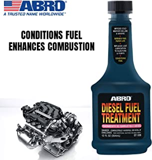 Abro DT-508 SUV Car Diesel Fuel Treatment for Injector Cleaning & Easy Fuel Combustion (354 g)