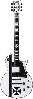 esp ltd v 50 electric guitar snow white