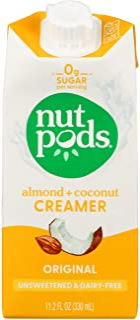 Nut Pods Creamer Diary Free Original, 11.2 fl oz
