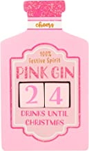 Sass and Belle Christmas Countdown Block - Pink Gin