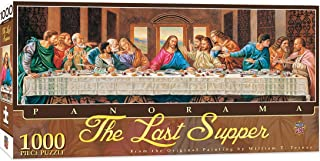 MasterPieces Inspirational Jigsaw Puzzle, The Last Supper Panorama, Featuring Art by William T. Ternay, 1000 Pieces