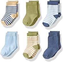 Touched by Nature Baby Boys` Organic Cotton Socks