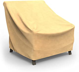 Budge All-Seasons Patio Chair Cover, Extra Large (Tan)