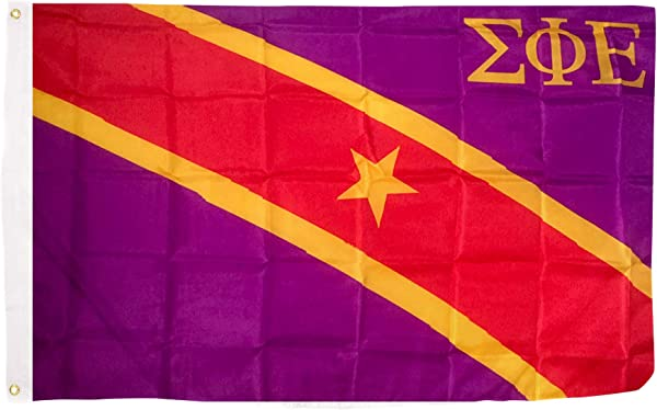 Sigma Phi Epsilon Chapter Fraternity Flag 3 X 5 Polyester Use As A Banner Sign Decor Sig Ep