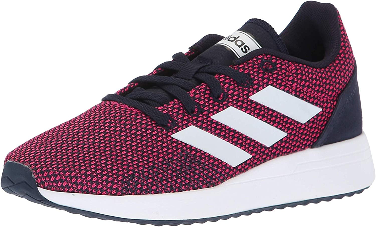 adidas Unisex-Kid's Weekly update Year-end annual account Run70S Running Shoe White Lege Real Magenta