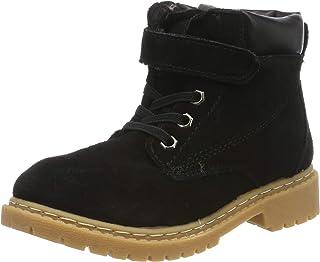 9d45a901cfc70 Fille Garçon Chaussures Bottes d'hiver Enfant Bottines Mode de Neige en Cuir  avec Doublure