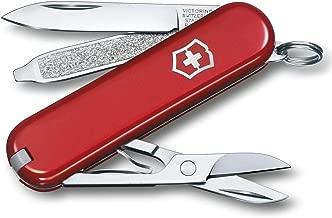 Victorinox - Coltellino tascabile Classic SD, colore Rosso, 58 mm