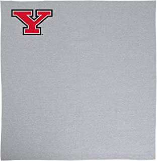 Promoversity NCAA Youngstown State Penguins 成人运动衫毛毯,127cm x 152.4cm,运动麻灰色