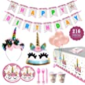216-Piece Tomons Party Supplies Kit