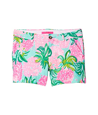 Lilly Pulitzer Callahan Knit Shorts (Blue Ibiza Pineapple Shake) Women